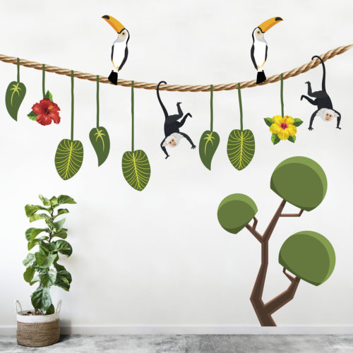 Not Just Any Old Jungle Garland